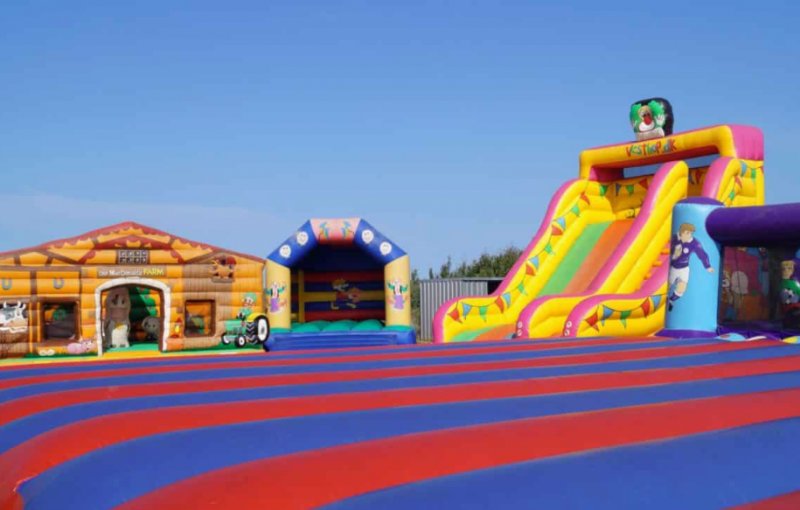 Bouncy Castle for Kids: Play Alongside Your Children